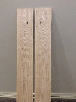 American White Ash. Book matched, Craft, Luthier, Timber, Box Maker.