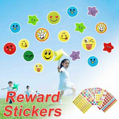 Childrens 1000+ Reward Smiley Face Well Done Stickers County Cb535 Uk