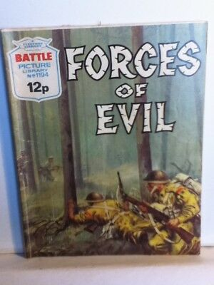 Battle Picture Library War Comic 'Forces Of Evil' (Issue 1194)