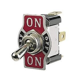 Narva On Off On Metal Toggle Switch with On Off On Tab 60061BL