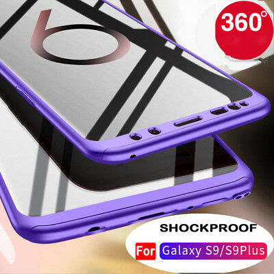 For Samsung Galaxy S9/S9 Plus 360°Shockproof Full Body Hybrid Hard Case Cover Yu