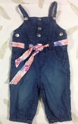 Sprout Baby Girls Chambray Overalls 000