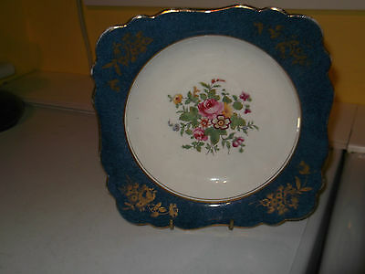1930+ Crown Staffordshire Shallow Bowl  / Plate With A Floral Pattern
