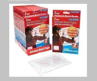 Self Adhesive Heat Pads Instant Heat Pain Relief Pads Muscle Pain Pad 1ST AID