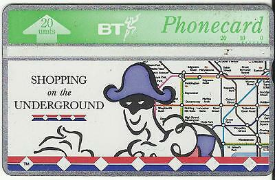 Bt Phonecard – Shopping On The Underground – Used