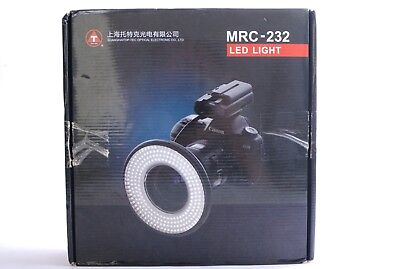 TopTec LED Ringlite MRC 232 + Close-up Access