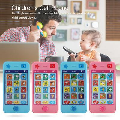 USA Kids Baby Simulator Music Cell Phone Touch Screen Educational Learning Toy