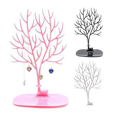 Elegant Jewellery Display Holder Tree Stand Earring Necklace Bracelet Ring Tray'