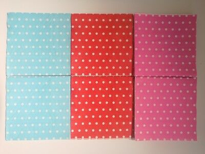 Paper Polka Dot Napkin 33cm Event Catering Birthday Wedding Decor. Party 10-80UK