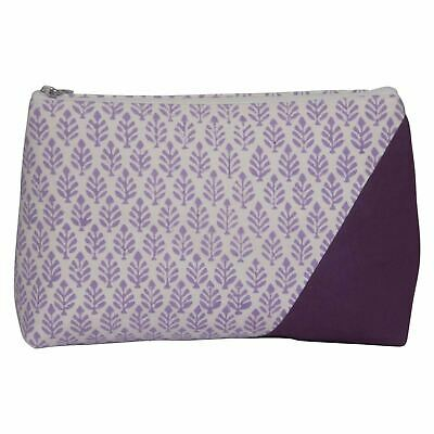 "KnitPro ""Reverie Triads"" Fabric Printed Storage Pouch for Knitting Accessories"