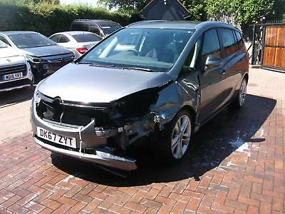 2017 VAUXHALL ZAFIRA Tourer 7 SEATER SALVAGE DAMAGED REPAIRABLE