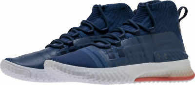 b4035c8364389 Under Armour UA PROJECT ROCK 1 Navy Blue Training Shoes Men 3020788-401 On  Hand