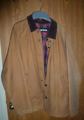 Supreme 2009 Timberline Waxed Jacket ~ Size Medium ~ Pre-owned.  Please read and