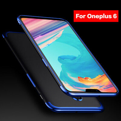 For OnePlus 6T 6 5 Slim Shockproof Electroplate Case Clear Soft TPU Hybrid Cover
