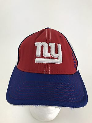 finest selection a0a07 5215a New York Giants Reebok NFL Fitted One Size Fits All Hat Cap Fast Free  Shipping