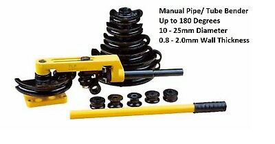 Heavy Duty Manual Pipe Bender Kit complete with bending shoes and case £75 +vat