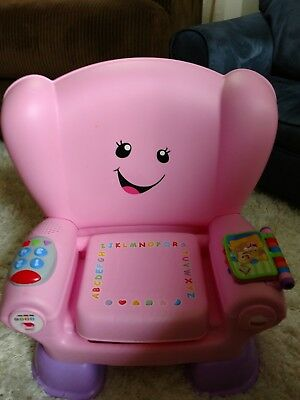 Fisher Price Laugh & Learn Smart Stages Pink Chair Baby Learning Toy