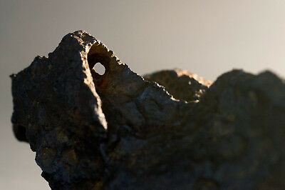 Canyon Diablo, Arizona Meteorite with Natural Hole from Meteor Crater