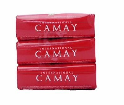 3 X 125g Camay Softly Scented Soap Bath Bar Classic  Fragrance FREE POSTAGE