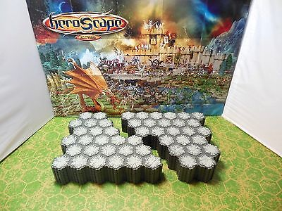 Expand Your Heroscape Battlefield with 12 24-Hex Dungeon Tiles - 288 Total Hexes