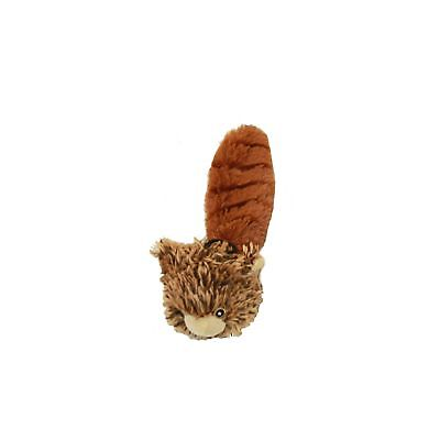 """Multipet Bouncy Burrow Buddies Babies Squirrel Small Dog Toy, 8"""""""