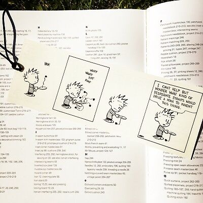 Calvin and Hobbes Bookmark