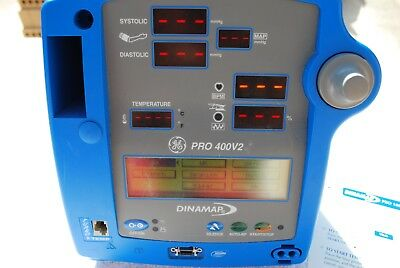 Dinamap Pro400V2 Patient Monitor/vital signs monitor - new battery fitted vgc