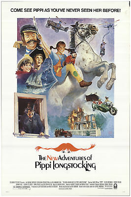 The New Adventures of Pippi Longstocking 1988 27x40 Orig Movie Poster FFF-70248