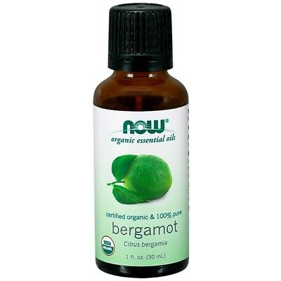 Now Foods - Organic Essential Oils, Bergamot, 1 fl oz (30 ml)