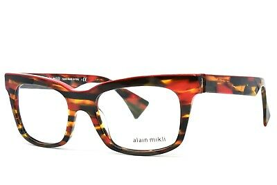 e2a5d57afd NEW AUTHENTIC ALAIN Mikli AL 0511 0109 Eyeglasses AL0511 Black Gray ...