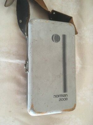 Vtg Norman 200 B Serial 33504 Charger