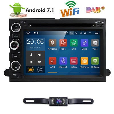 Android   Car Stereo Dvd Player Gps Radio For Ford F Fusion Expedition Edge