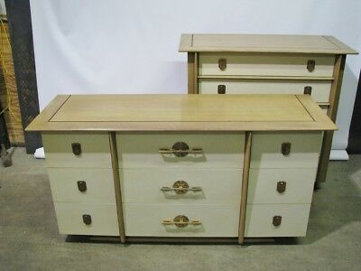 "Immaculate Kent Coffey Mid Century Modern ""Park Avenue"" Dresser & Chest Set"