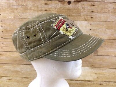 26c460ba4aac8 Disney Parks Mickey Mouse Cadet Hat Womens One Size Distressed Steamboat  Willie