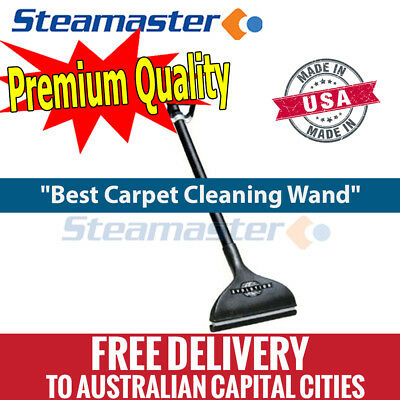 "Carpet Shampoo Machine 1.5"" x 13"" Evolution Wand extractor hose solution jet"