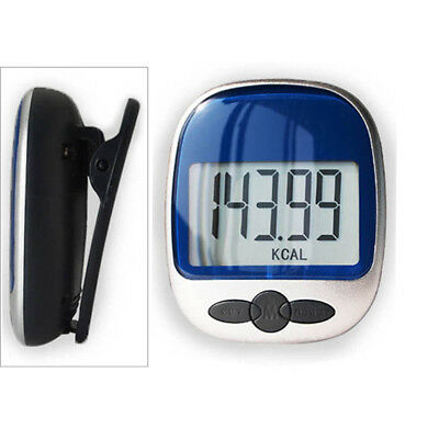 High Quality Step Counter Pedometer Exercise Monitor Walking Calories Counter UK