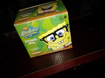 SpongeBob Squarepants Cup NEW Ceramic Coffee Mug