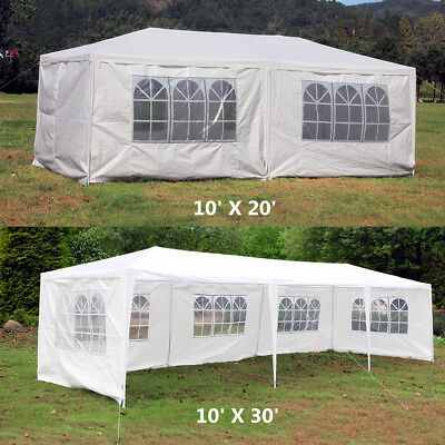 10' x 20' / 10' x 30' Wedding Party Outdoor Canopy Tent Gazebo Pavilion Events
