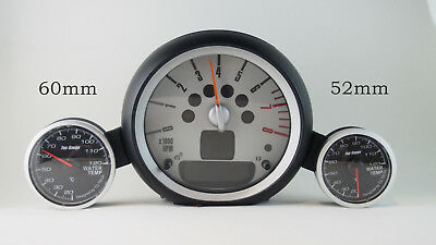 52mm or 60mm Water Temp Gauge Meter OBD2 fits MINI COOPER R55 R56 R57 R58 R59