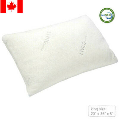 Shredded Memory Foam Pillow with washable removable cooling cover-KING SIZE