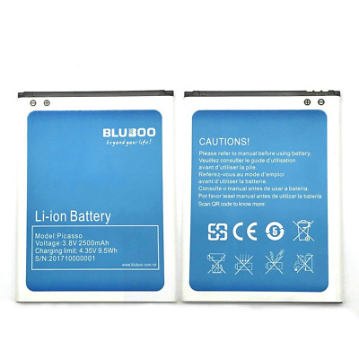 BLUBOO PICASSO 2500mAh Replacement internal battery