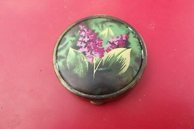 Early Potter & Moore, Mitcham Round Metal Beauty Compact