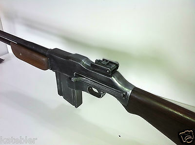 BAR Browning M1918A2 Automatic Rifle inert Replica Plans build your own Freepost