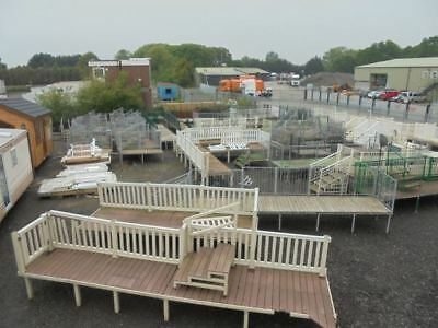 Static Caravan Various Decking And Balcony Steps For Sale From £200
