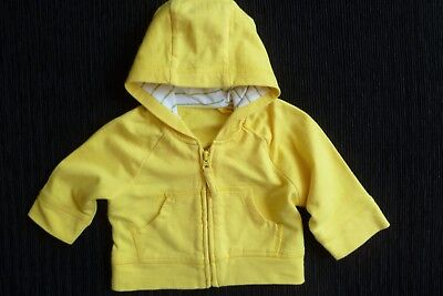 Baby clothes UNISEX BOY GIRL premature/tiny<7.5lbs/3.4kg yellow jacket cotton