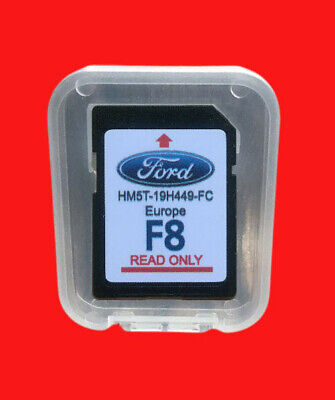 2019-2018 Ford F7 Europe Map Sd Card Karte Europa Sony Sync Touchscreen F5 F6