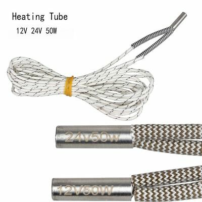 New Reprap Hot Cartridge Heater 3D Printer Parts Single End Heating Tube