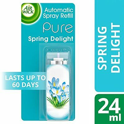Airwick Freshmatic Compact PURE  Spring Delight 24ml  (3 Packs)
