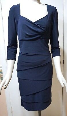 0eb9dcd415f NWT WHITE HOUSE Black Market 3 4-Sleeve Instantly Slimming Dress ...