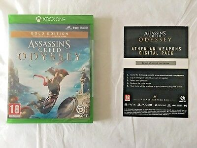 Assassin's Creed Odyssey Gold Edition – Xbox One - PAL UK SEALED! IN STOCK NOW!